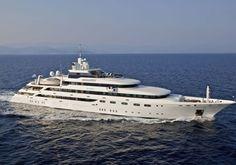 Fraser Mega Yacht available for charter: $685,000. for the W.E.E.K...