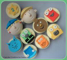 Bob the Builder Cupcakes - by Cupcakecreations @ CakesDecor.com - cake decorating website