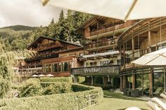 Hotel Review Naturhotel Leitlhof, Innichen - The Chill Report Entspannendes Bad, South Tyrol, Das Hotel, Hotel Reviews, Italy, Cabin, Mansions, House Styles, Outdoor