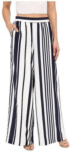 BB Dakota Jillian Striped Wide Leg Pants