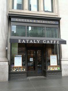 Eataly caffe in NY