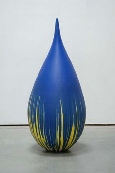Teardrop - Blue | From a unique collection of sculptures at http://www.1stdibs.com/art/sculptures/
