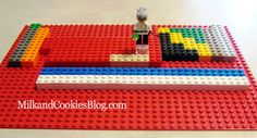 How to make your own LEGO Periodic Table of Elements. To create this table you will need 11 different colors of 2 x 2 bricks.
