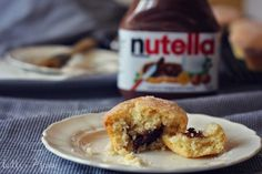 Nutella-filled donut muffins