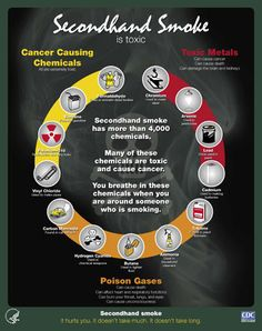 This pin talks about how second hand smoke can be toxic and harmful to the people around you. It is good for students to know how it can be hurtful and to be aware of it. Smoking Facts, Smoking Statistics, Health And Nutrition, Health And Wellness, Help Quit Smoking, Smoking Kills, Health Fair, Health Matters, Smoking Cessation