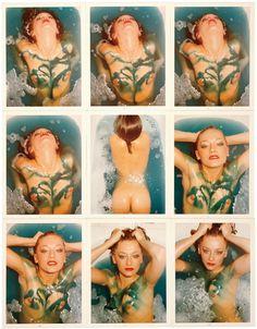 Blue Water Series: Patti D'arbanville, Paris, 1974