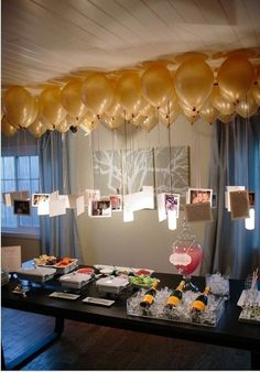 Take Polaroids of NoCos and attach to balloons - can make photocopies of Polaroids to save $
