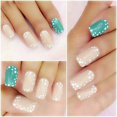 An easy nails design