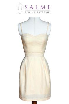 PDF Sewing pattern  Silvia Dress by Salmepatterns on Etsy, $8.00