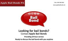 Looking for bail bonds? Contact Apple Bail Bonds Providing 24-hour service Ready to discuss the bail bond with you anytime
