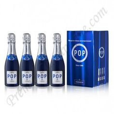 Premier Champagne - Pommery POP Extra Dry (187ml Mini/Split Bottle) Pack of 4, $47.95 (http://www.premierchampagne.com/products/pommery-pop-extra-dry-187ml-mini-split-bottle-pack-of-4.html)