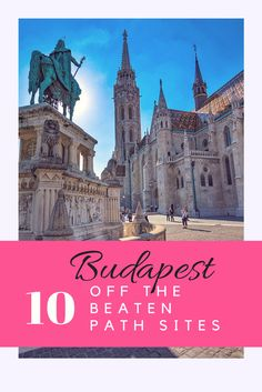 Off the Beaten Path in Budapest - There are many exciting things to do in Budapest that most tourists never find out about. Learn from a local & get to know Budapest. Europe Travel Guide, Travel Info, Travel List, Travel Guides, European Vacation, European Destination, European Travel, Budapest Things To Do In, Hungary Travel