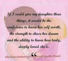 Daughters-Oh what I would give... Besos my beautiful baby girl... <3<3<3