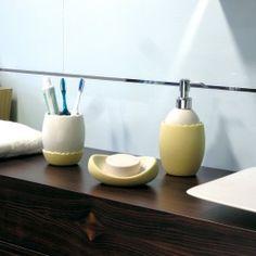 OVO #bathroom #accessories #collection #egg #shape #design #ErvasBasilicoGirardi #dispenser #tumbler #soapholder #ceramic #bathroomdesign