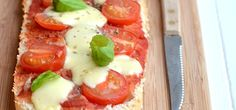 Easy Peasy Pizzabrood - Uit Paulines Keuken
