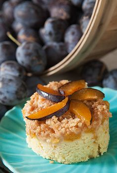 Plum Coffee Cake: Prep Time: 45 Minutes Cook Time: 45 Minutes Makes: 9 Servings