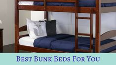 Best Bunk Beds of 2018 & Tips To Buy One! Sleep Desires Buy Furniture Online, Luxury Furniture Brands, Best Thread Count, Cool Bunk Beds, Cheap Bed Sheets, Bed Reviews, Bed Furniture, Linen Bedding, Sleep