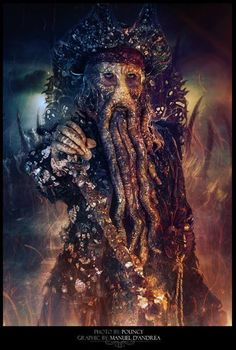 Davy Jones by Manuel D'Andrea