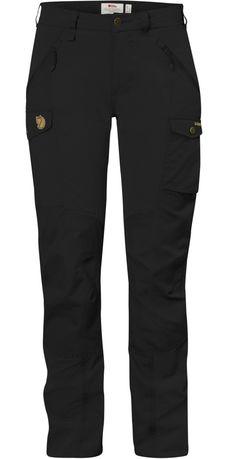 Fjällräven, Nikka Trousers Curved , Musta / Black