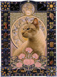 Lesley Anne Ivory - Star cats: a feline zodiac (Sagittarius)