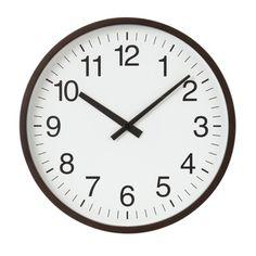 無印 壁掛時計 電波式