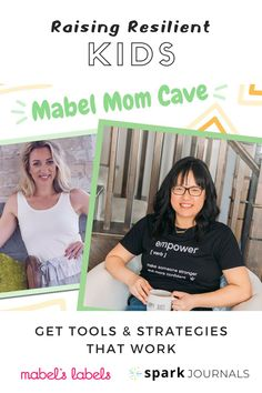 Watch this live chat with Mabel's Labels co-founder Julie Cole and Jenn from Spark Journals to get tips that you can implement today! Emotional Resilience, Emotional Regulation, Mindfulness Activities, Activities For Kids, Mabel's Labels, Growth Mindset For Kids, Toolbox, Kids House, Kids And Parenting