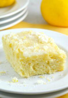 Lemon Buttermilk Sheet Cake - Gonna Want Seconds