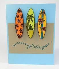 Image result for cards using surfboards