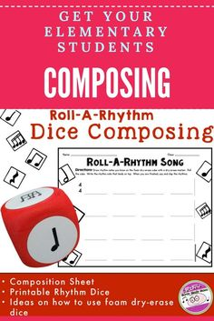 Fun composing activity for elementary music.