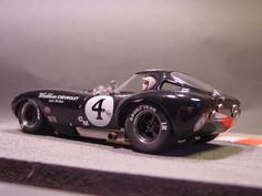 Pheonix Race Cars Cheetah Coupe, resin, 1/24, slot car came as kit or built, depending on your budget. This body is a resin cast of the rare Atlas plastic bodied Cheetah.