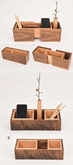 Creative DIY Desk Organizer Ideas to Make Your Desk Cute! | #DiyHomeDecor #DeskOffice #StorageIdeas #HomeSweatHome
