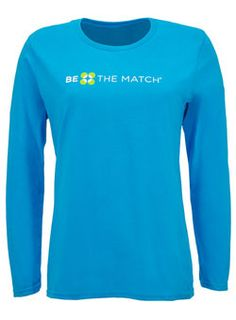 Ladies Be The Match Long-Sleeved T-shirt