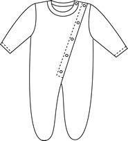 molde macacão de bebe - Pesquisa Google