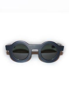 DUSEN DUSEN, Circle Sunnies, Matte Black |