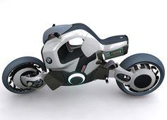 BMW Wahnsinn concept motorbike
