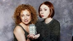 Melody and Amy Pond.