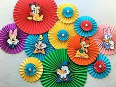This set of handmade paper fans will be the perfect addition to your next party, event, or photo shoot! Hang them above your dessert table, fill a blank wall, o