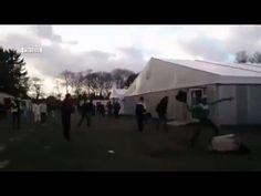 Mass brawl in Belgian refugee center over woman refusing to wear headscarf (VIDEO) — RT News