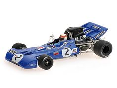 Tyrrell Ford 003 (Jackie Stewart - World Champion in Blue scale by Minichamps Ford, Jackie Stewart, Diecast Model Cars, Scale Models, Race Cars, Champion, Racing, Formula 1, Composition