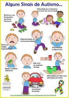 Imagens do Facebook - Os sinais do autismo - Pontos de Vista