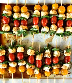 15 Party Appetizers Served on Sticks