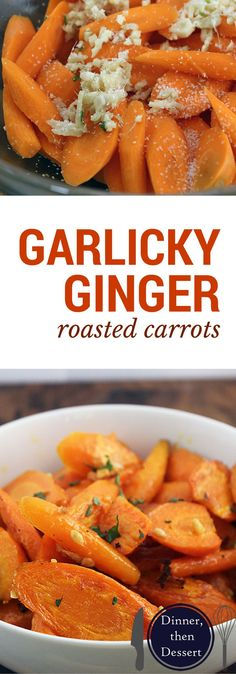 Just a few ingredients take roasted carrots to a whole new level! Great with Asian dishes or grilled meats.