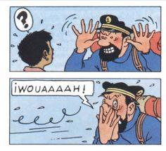 Le Capitaine Haddock - Tintin au Tibet