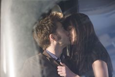 Doctor Who TV Series 4 Story 200 Planet of the Dead Special Easter 2009 New Doctor Who, 10th Doctor, Sci Fi Series, Series 4, Doctor Who Valentines, Planet Of The Dead, Kisses, Teenager Posts Love, Catherine Tate