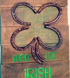 Click pic for 50 St Patricks Day Crafts for Kids - Pallet Greeting  | Easy Crafts for Kids