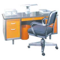 Really wishing we could order these for everyone at LEAP. Tanker Desk Orange now featured on Fab.