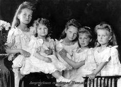August family of Tsar Nicholas II