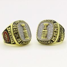 1965 Montreal Canadiens Stanley Cup Championship Ring