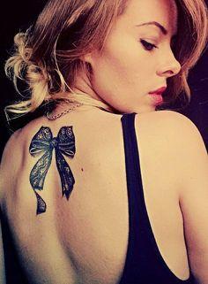 bow tattoo by ShizZuro on DeviantArt