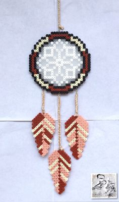Dreamcatcher hama beads by LeCreazioniDiMaYa